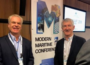 David Lowen AlphaXO and Terry Dodd Pacific Marine Group & Sealink Group
